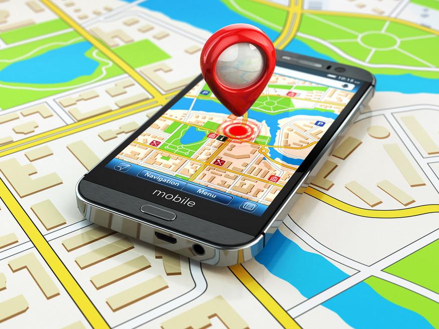 نقشه برداری جی پی اس